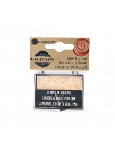 Pad inchiostro per Cera - Glitter Oro