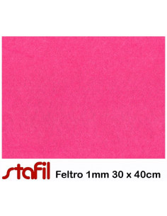 Foglio FELTRO 30x40cm 1mm Fucsia