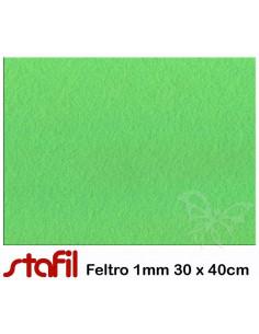 Foglio FELTRO 30x40cm 1mm Verde maggio