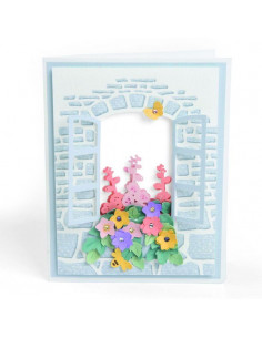 Sizzix Impresslits Embossing Folder Window Box 663585