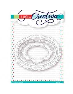 Set 3 Fustelle La Coppia Creativa Ovali creativi RU285