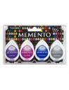 Set 4 Tamponi a goccia Memento per timbri - Rainy Daze