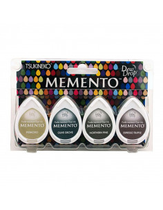 Set 4 Tamponi a goccia Memento per timbri - Central Park