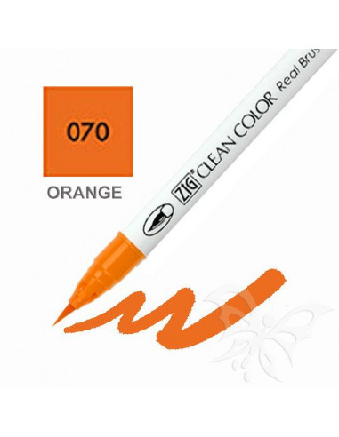 Clean Color Real Brush - (070)Orange