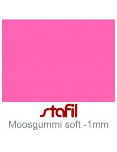 "Foglio moosgummi Soft ""Rosa intenso"" 40x60cm 1mm"