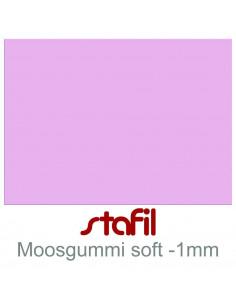 """Foglio moosgummi Soft """"Glicine Pastello"""" 40x60cm 1mm"""