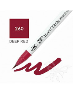 Clean Color Real Brush - (260)Deep Red