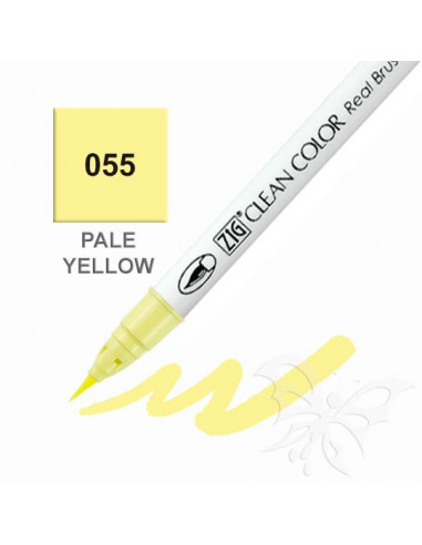 Clean Color Real Brush - (055)Pale Yellow