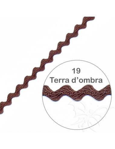 Serpentina Terra d'ombra 6mm x 5mt