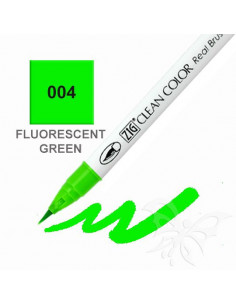 Clean Color Real Brush - (004)Fluorescent Green