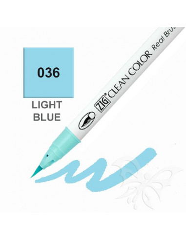 Clean Color Real Brush - (036)Light Blue
