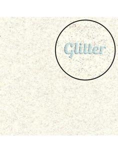 Panno GLITTER Avorio 45x50cm 1mm
