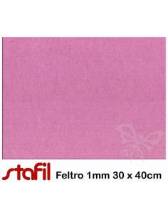 Foglio FELTRO 30x40cm 1mm Viola Chiaro 25017037