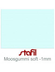 "Foglio moosgummi Soft ""Celeste Baby"" 40x60cm 1mm"