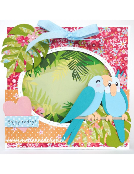 Fustella Marianne Design Collectables - Eline's Birds COL1465