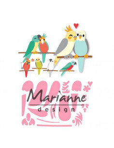 Fustella Marianne Design Collectables - Eline's Birds COL1465