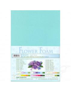 10 fogli A4 Flower Foam Soft 0,8mm Light Blue