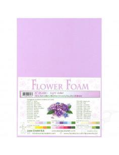 10 fogli A4 Flower Foam Soft 0,8mm Light Violet