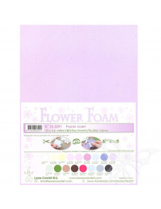 10 fogli A4 Flower Foam Soft 0,8mm Pastel Violet
