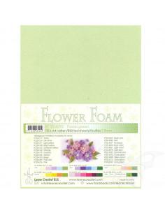 10 fogli A4 Flower Foam Soft 0,8mm Pastel Green