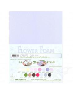 10 fogli A4 Flower Foam Soft 0,8mm Pastel Blue