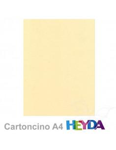 Cartoncino Heyda A4 300gr set 10fg. Beige