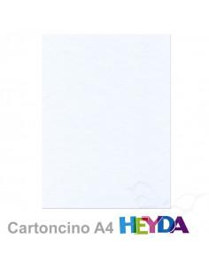 Cartoncino Heyda A4 300gr set 10fg. Bianco