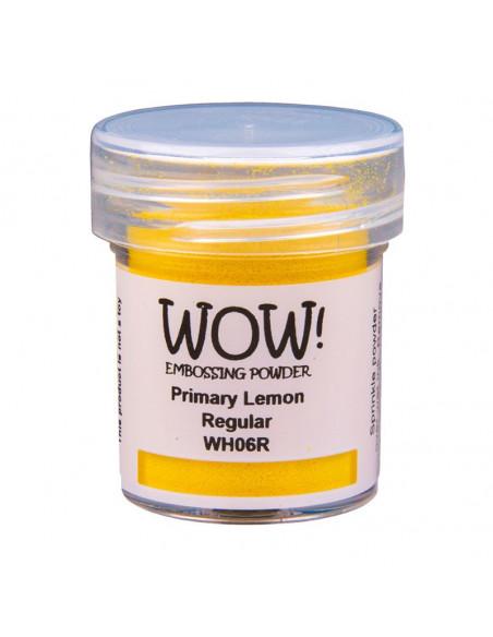 Wow! Polvere Embossing Primary 15ml - Lemon WH06R