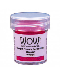 Wow! Embossing Opaque Primary 15ml - Cardinal Red WK00R