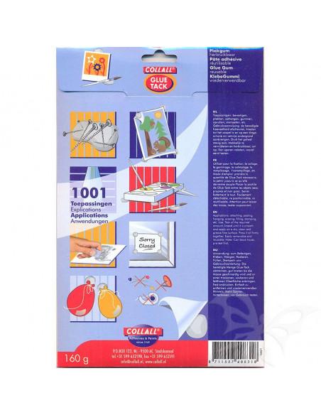 Pasta adesiva riutilizzabile bianca 160gr COLGT160