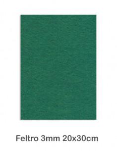 Feltro cm 20x30 mm3 Verde Scuro