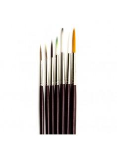 Set 7 Pennelli sintetici Liner mis. 0-1-3-5-7-9-11