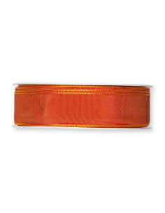 Nastro Taftà animato ARANCIO SCURO 25mm x 5mt