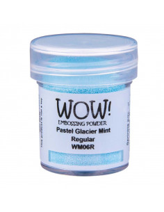 Wow! Polvere Embossing Opaque Pastel 15ml - Glacier Mint WM06R