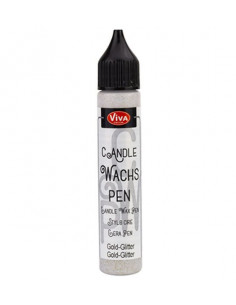 Candle Wachs-Pen 28ml Oro Glitter
