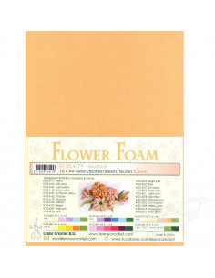 10 fogli A4 Flower Foam Soft 0,8mm Mustard