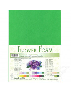 10 fogli A4 Flower Foam Soft 0,8mm Grass Green