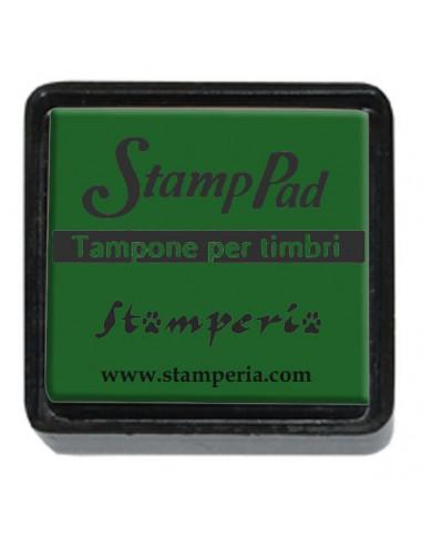 Tampone pigmento per timbri piccolo - Verde WKP02P