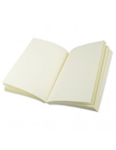 Diario neutro 140 fogli avorio 120gr 13x9x1,5cm