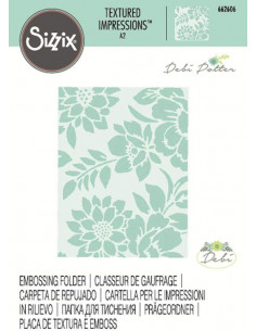 Libretto Embossing Sizzix - Botanicals 662606