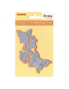 Fustella Floral & butterflies HSDJ003