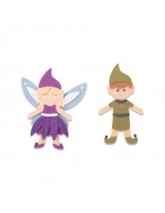 Fustella Sizzix Bigz L - Elf & Fairy 663495