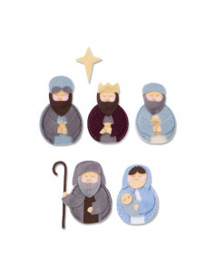 Fustella Sizzix Bigz L - Sweet Nativity 663498