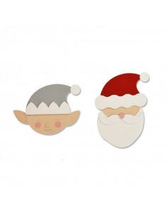 Fustella Sizzix Bigz - Santa & Elf 663378