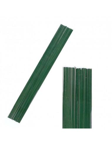 Set 50 pz. Filo metallico 0,75mm x 50cm - Verde