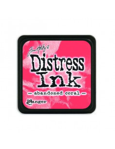 Ranger Distress Mini Ink pad - abandoned coral Tim Holtz