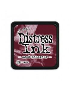 Ranger Distress Mini Ink pad - aged mahogany Tim Holtz