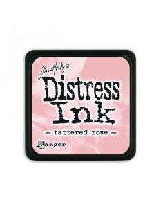 Ranger Distress Mini Ink pad - tattered rose Tim Holtz