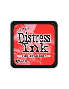 Ranger Distress Mini Ink pad - ripe persimmon Tim Holtz