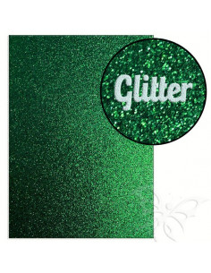 "Foglio fommy glitter ""DARK GREEN"" 21x30cm 1,6mm"